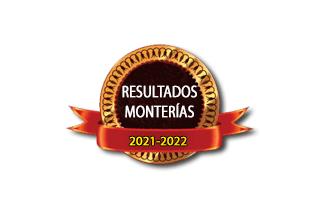 Resultados de monterías temporada 2021-2022.