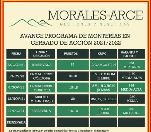 Monterías Morales Arce 2021-2022
