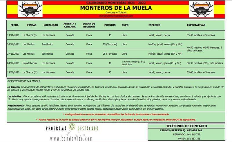 Monterías Monteros de la Muela