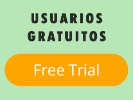 Panel de contenidos para usuarios gratuitos.