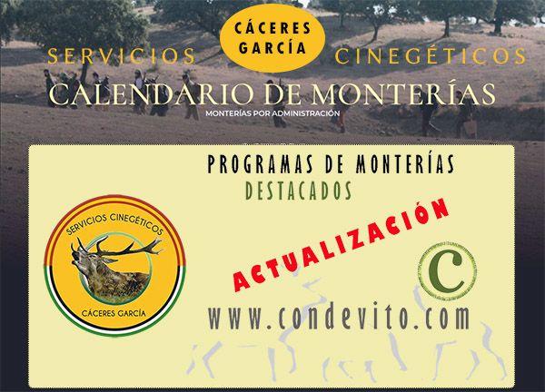 Monterías Cáceres García Servicios Cinegéticos.