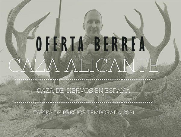 Recechos de ciervo Caza Alicante.